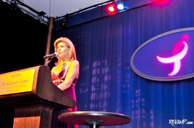 "NBC ""Today"" Co-Host and breast cancer survivor Hoda Kotb emceed the 2011 Susan G. Komen for the Cure ""Honoring The Promise"" gala."