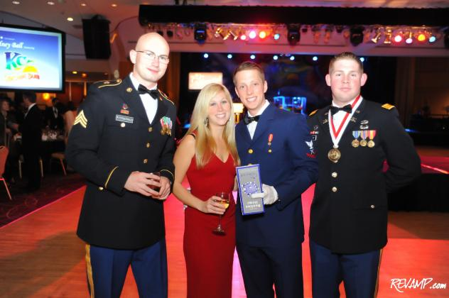Soldiers from the USO were joined by DC Mayor Vincent Gray and Jamaican Ambassador Audrey Marks, among others, at the 2011 Kidney Ball.
