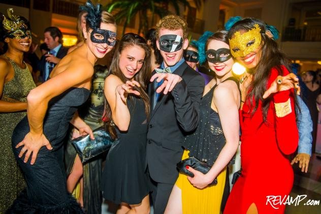 Guests 'Roar' to Katy Perry during Saturday's Grand Masquerade Soiree benefitting The Washington Ballet .