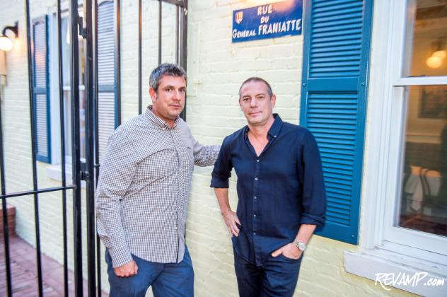 Brothers Ian and Eric Hilton's newest restaurant, Chez Billy Sud, opens in Georgetown tonight for dinner.